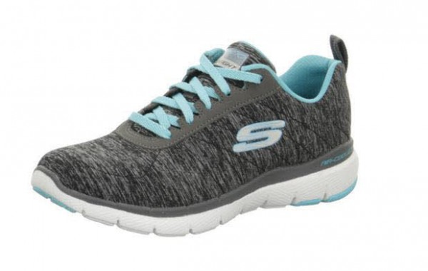 Skechers Flex Appeal 3.0 Insiders Grau