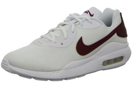 Nike AIR MAX OKETO,WHITE/UNIVERSITY WHITE/UNIVERSITY RED