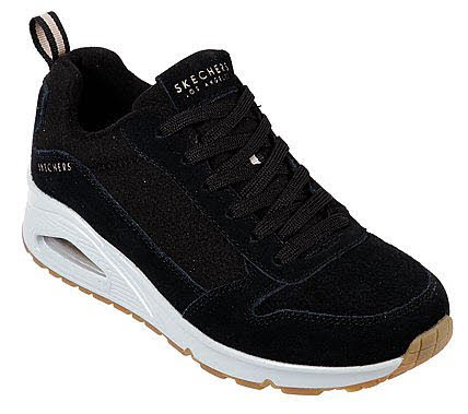 Skechers Uno Two for the show Schwarz
