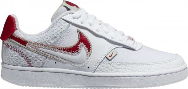 Nike Wmns Nike Court Vision Lo Prmv Weiss